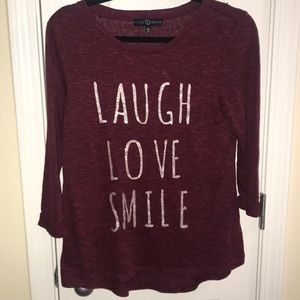 Laugh Love Smile Top